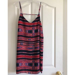 Tribal print Eight Sixty dress EUC